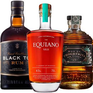 Set Black Tot + Equiano + Ron La Progresiva
