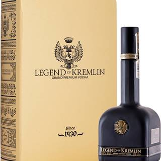 Legend of Kremlin Gold & Black 40% 0,7l