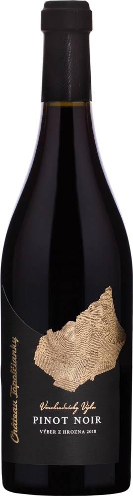 Château Topoľčianky Chateau Topoľčianky Vinohradnícky výber Pinot Noir 2018 13% 0,75l