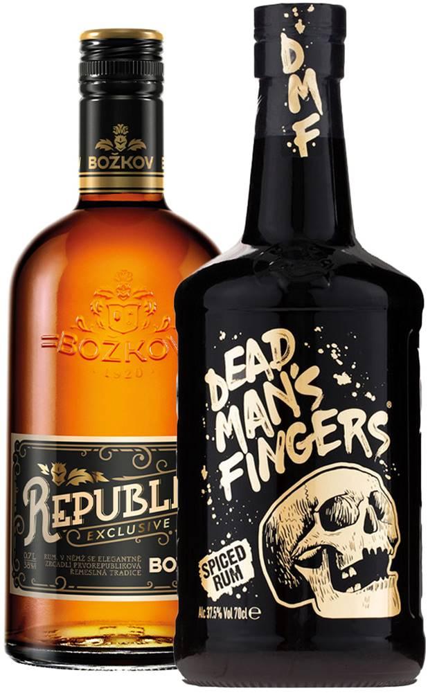 Dead Man's Fingers Set Božkov Republica + Dead Man&
