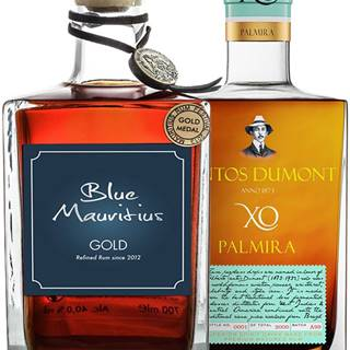 Set Blue Mauritius + Santos Dumont Palmira
