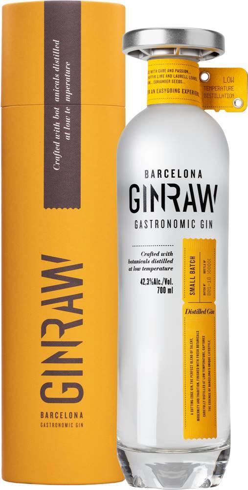 GinRaw GinRaw Gastronomic Gin v tube 42,3% 0,7l