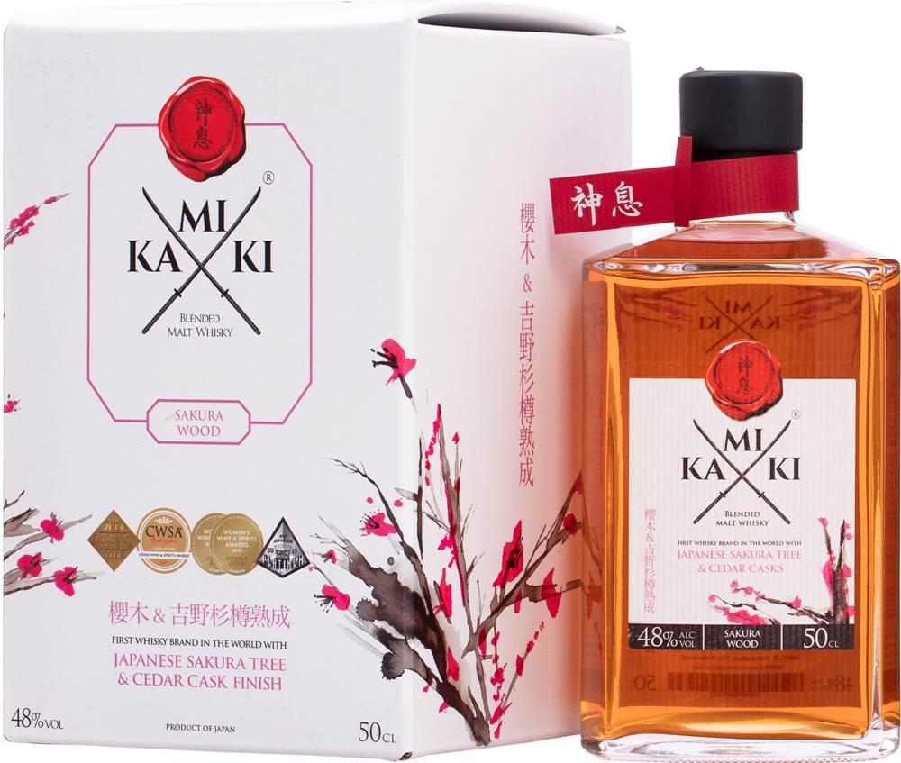 Kamiki Kamiki Sakura Wood Whisky 48% 0,5l