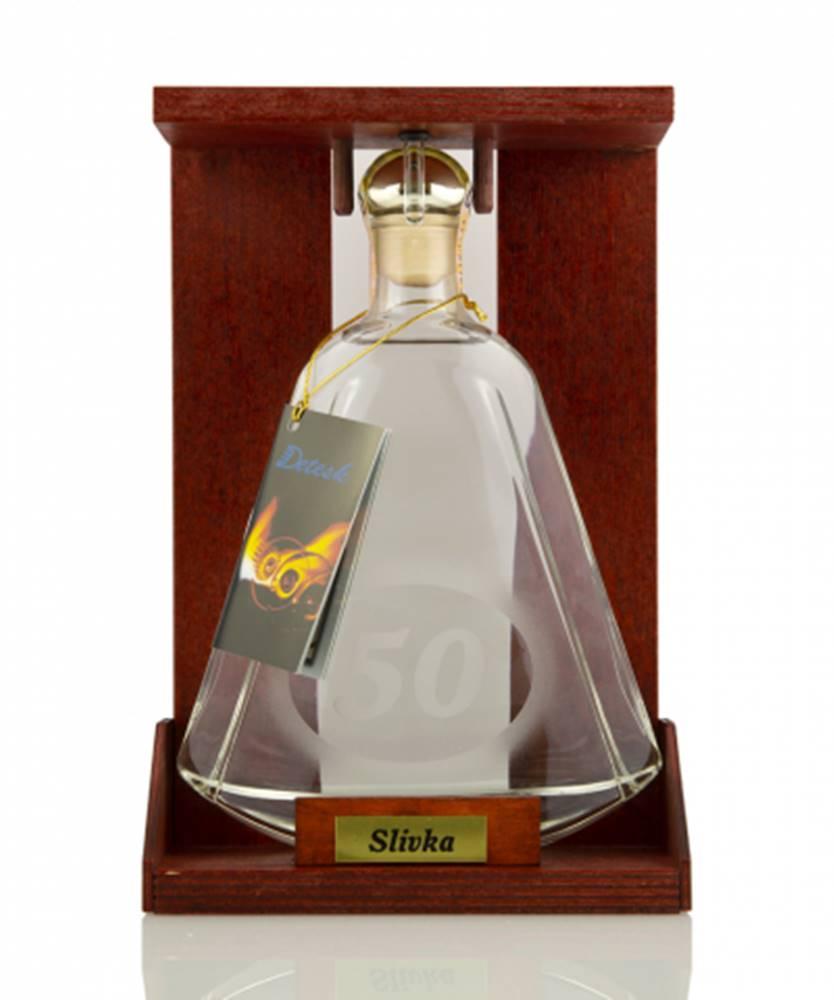 "DETESK Fľaša s číslom""50"" 0,35l (40%)"