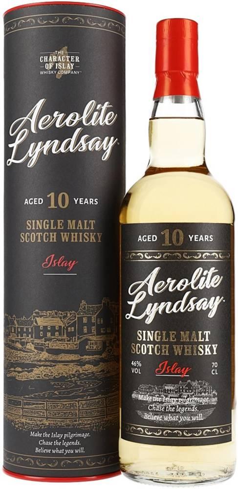 The Character of Islay Whisky Company Aerolite Lyndsay 10 ročná 46% 0,7l