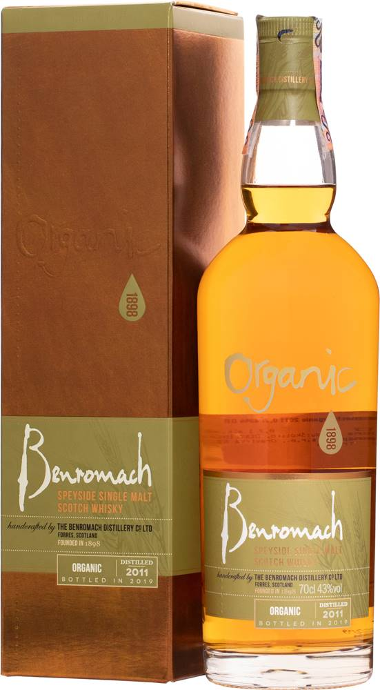 Benromach Benromach Organic 2011 43% 0,7l