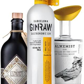 Set GinRaw + Alkkemist + The Illusionist