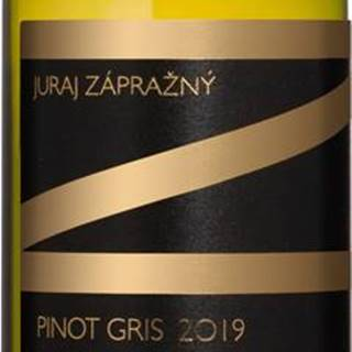 Juraj Zápražný Pinot Gris 2019 13% 0,75l