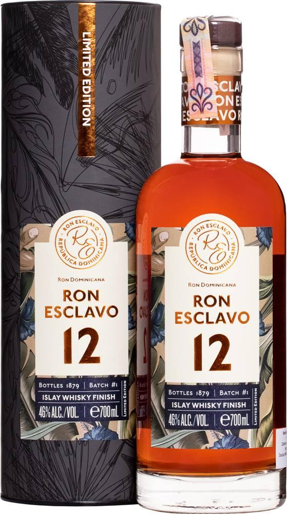 Ron Esclavo Ron Esclavo 12 ročný Islay Whisky Finish 46% 0,7l