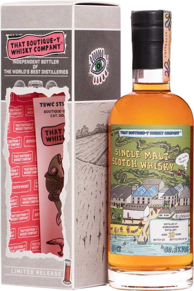That Boutique-y Whisky Company That Boutique-y Whisky Company Bunnahabhain 10 ročná 50,1% 0,5l