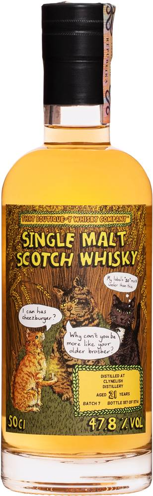 That Boutique-y Whisky Company That Boutique-y Whisky Company Clynelish 21 ročná 47,8% 0,5l