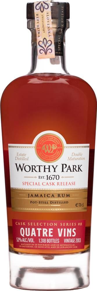 Worthy Park Worthy Park Special Cask Quatre Vins  52% 0,7l