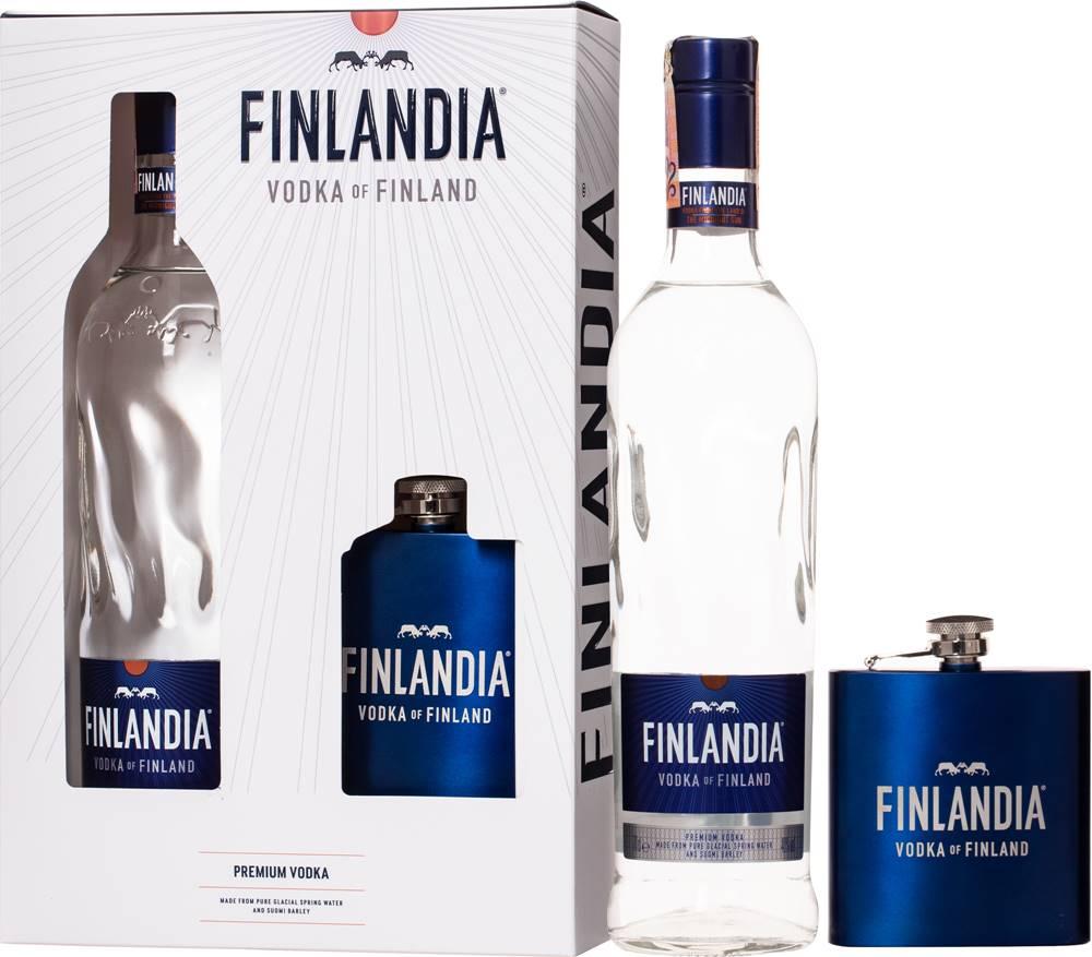 Finlandia Finlandia + ploskačka 40% 0,7l