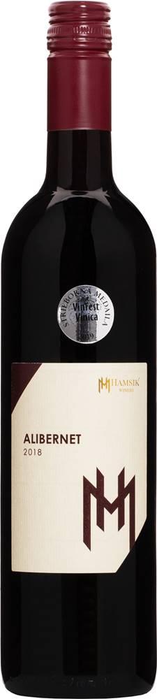 Hamsik Winery Hamsik Alibernet 2018 12% 0,75l