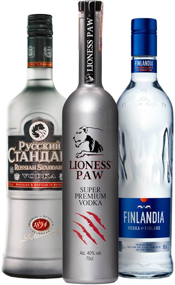 Finlandia Set Finlandia + Lioness Paw + Russian Standard