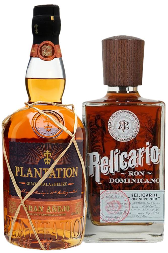 Plantation Set Relicario Superior + Plantation Guatemala & Belize