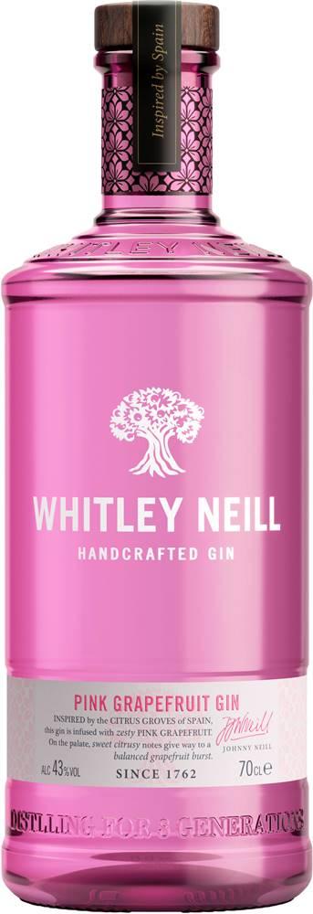 Whitley Neill Whitley Neill Pink Grapefruit Gin 43% 0,7l