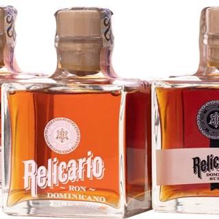 Relicario Ron Dominicano Pack 3 x 0,2l 40% 0,6l