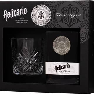 Relicario Ron Dominicano Supremo + 1 pohár 40% 0,7l