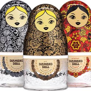 Set Diamond doll