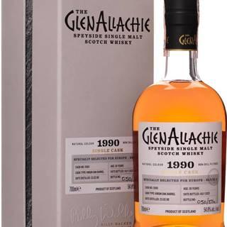 The GlenAllachie 30 ročná 1990 Virgin Oak Cask 54,8% 0,7l