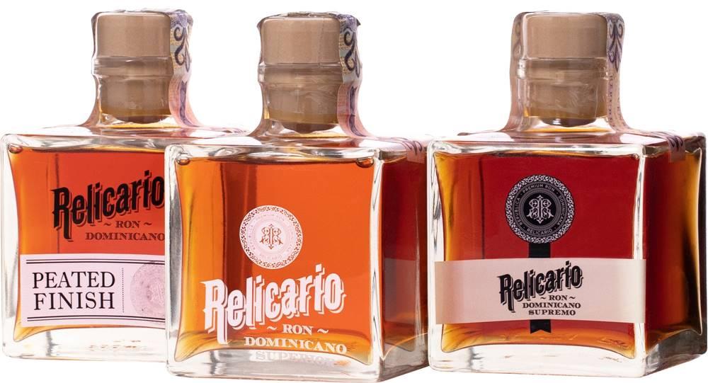 Relicario Relicario Ron Dominicano Pack 3 x 0,2l 40% 0,6l