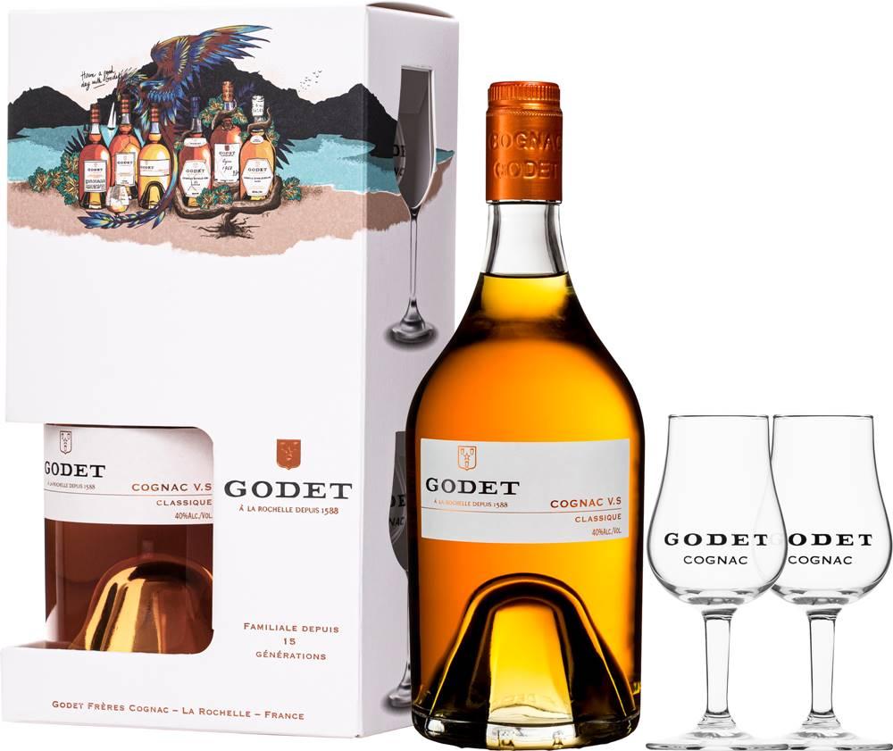Godet Godet VS Classique + 2 poháre
