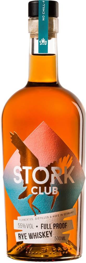 Stork Club Stork Club Full Proof Rye Whiskey 55% 0,5l