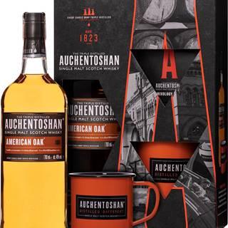 Auchentoshan American Oak + plecháčik 40% 0,7l
