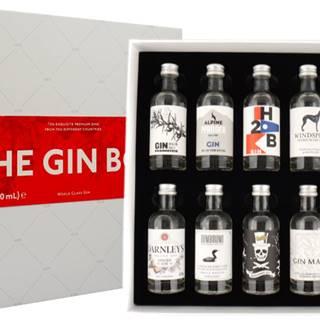 The Gin Box World Tour Edition 2020 10 x 0,05l 42,9% 0,5l
