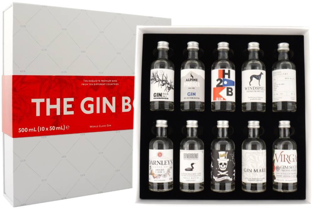 The Gin Box The Gin Box World Tour Edition 2020 10 x 0,05l 42,9% 0,5l