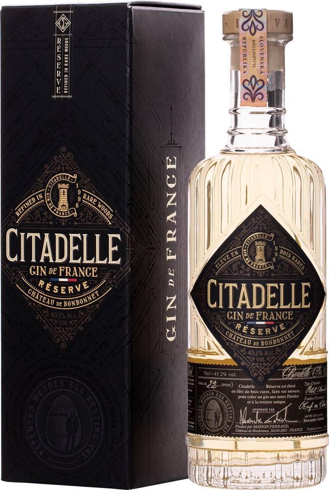 Citadelle Citadelle Gin Réserve 45,2% 0,7l
