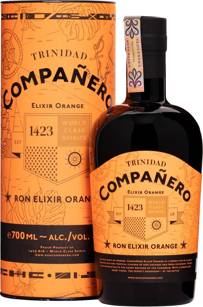 Compañero Companero Elixir Orange 40% 0,7l