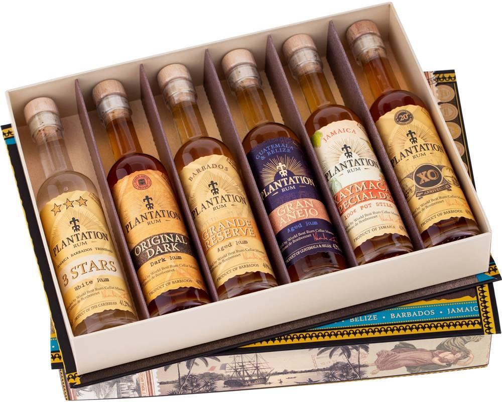 Plantation Plantation Experience Cigar Box 6 x 0,1l 41,03% 0,6l