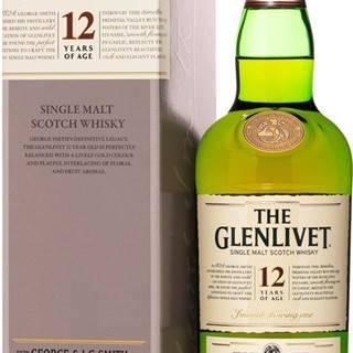 The Glenlivet 12 ročná 40% 0,7l