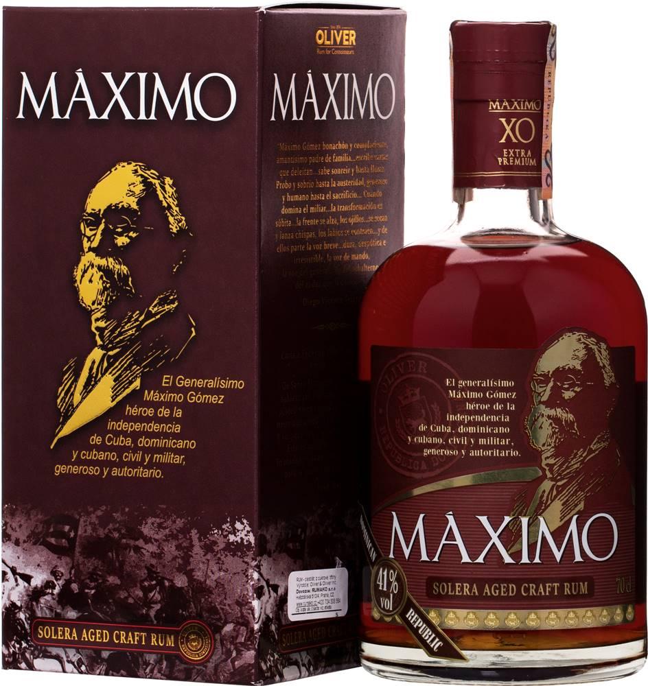 Oliver&Oliver Maximo XO 41% 0,7l