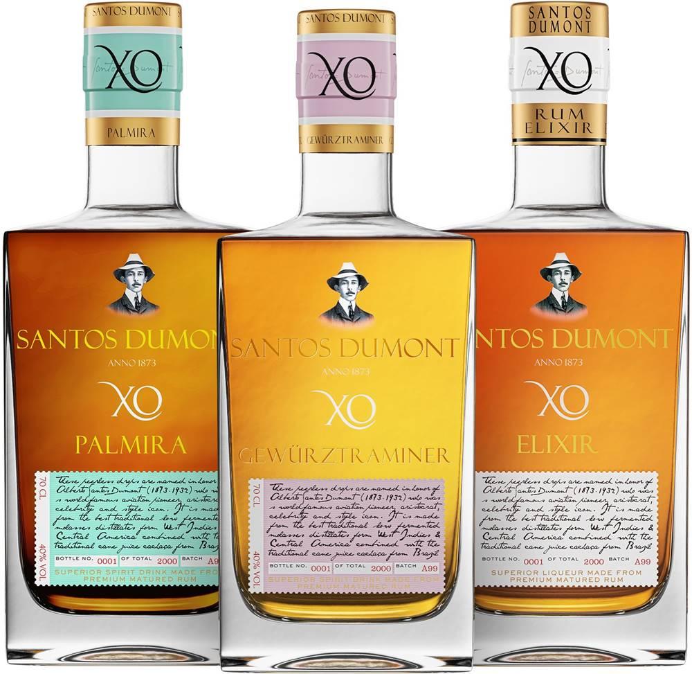Santos Dumont Set Santos Dumont Elixir + Palmira + Gewürztraminer