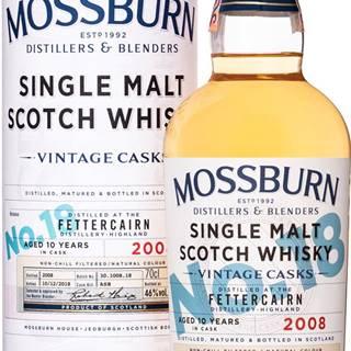 Mossburn Vintage Casks Fettercairn 10 ročná No.18 46% 0,7l