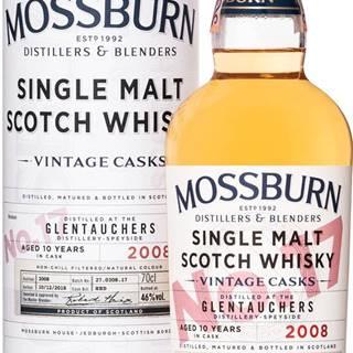Mossburn Vintage Casks Glentauchers 10 ročná No.17 46% 0,7l