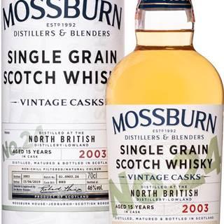 Mossburn Vintage Casks North British 15 ročná No.24 46% 0,7l