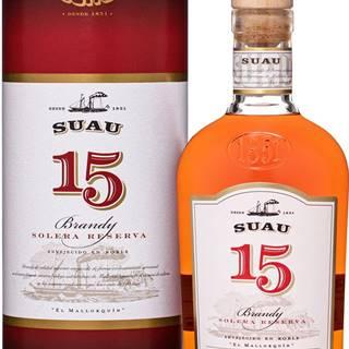 Suau Brandy 15 ročné 37% 0,7l