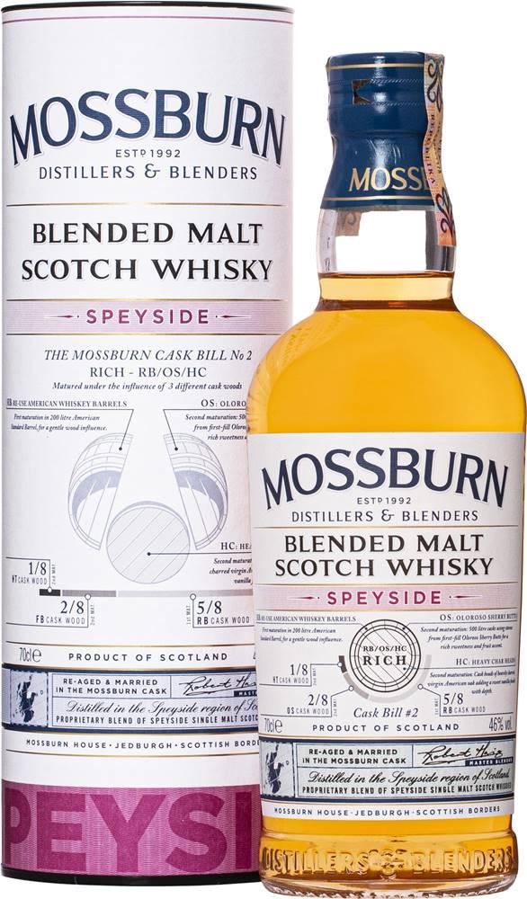 Mossburn Mossburn Speyside Blended Malt Cask Bill No.2 46% 0,7l