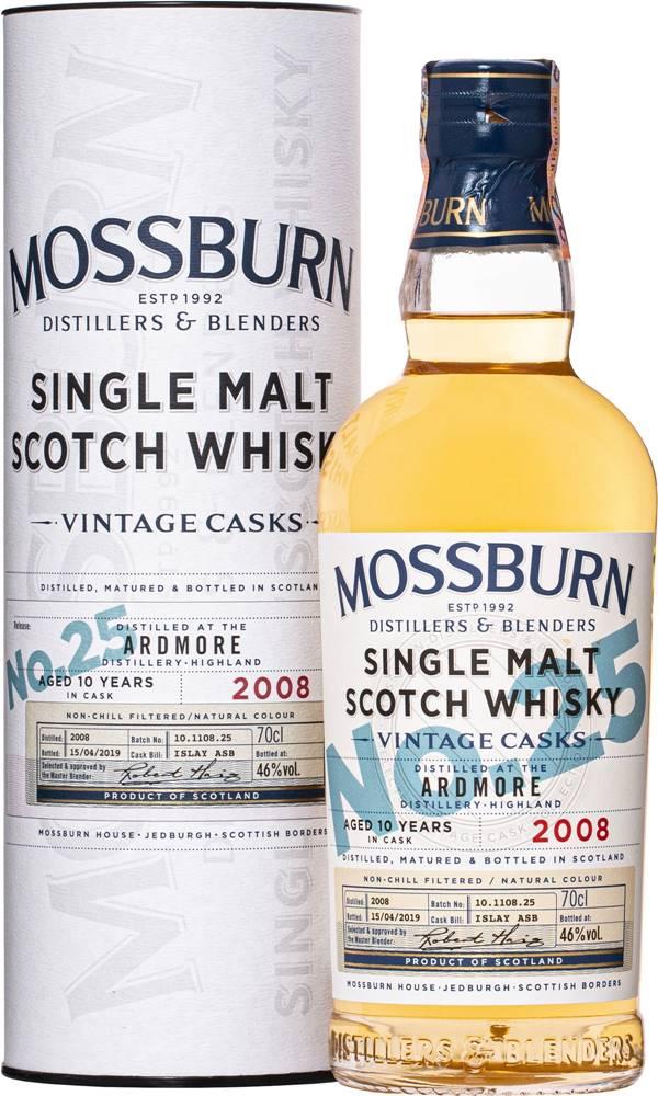 Mossburn Mossburn Vintage Casks Ardmore 10 ročná No.25 46% 0,7l