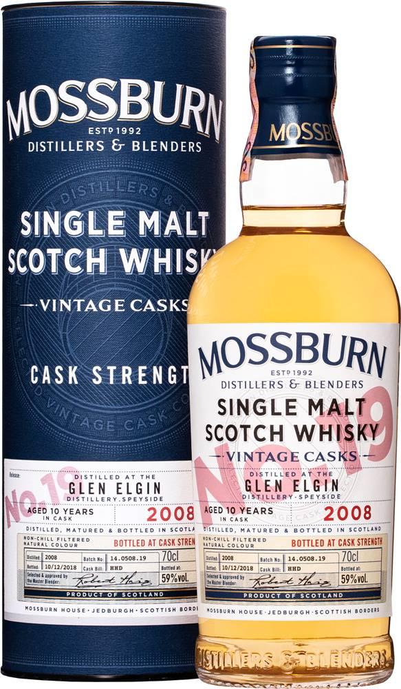 Mossburn Mossburn Vintage Casks Glen Elgin 10 ročná No.19 59% 0,7l