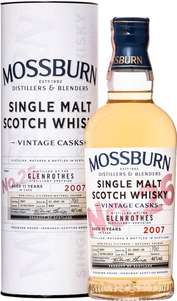 Mossburn Mossburn Vintage Casks Glenrothes 11 ročná No.26 46% 0,7l