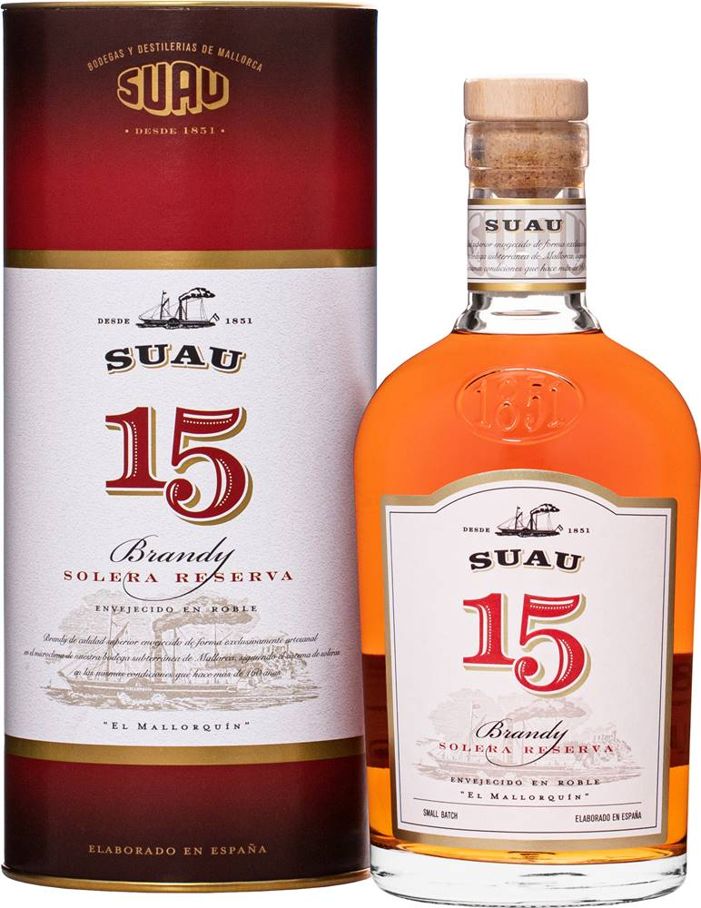Suau Suau Brandy 15 ročné 37% 0,7l