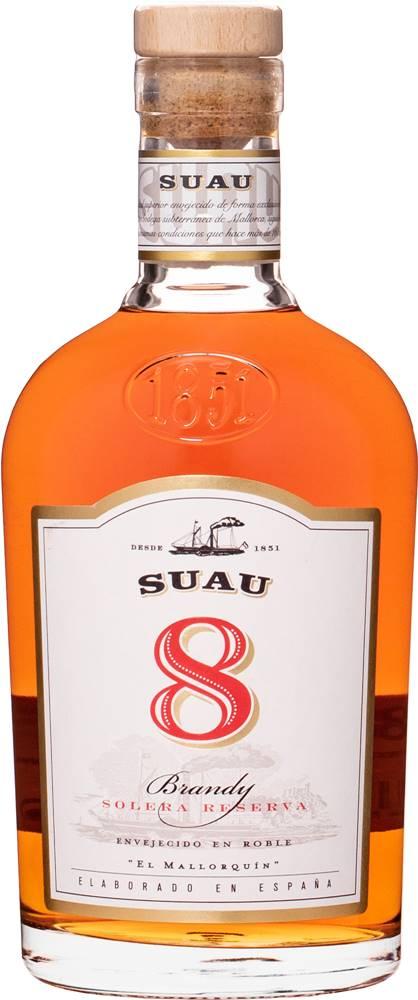 Suau Suau Brandy 8 ročné 37% 0,7l