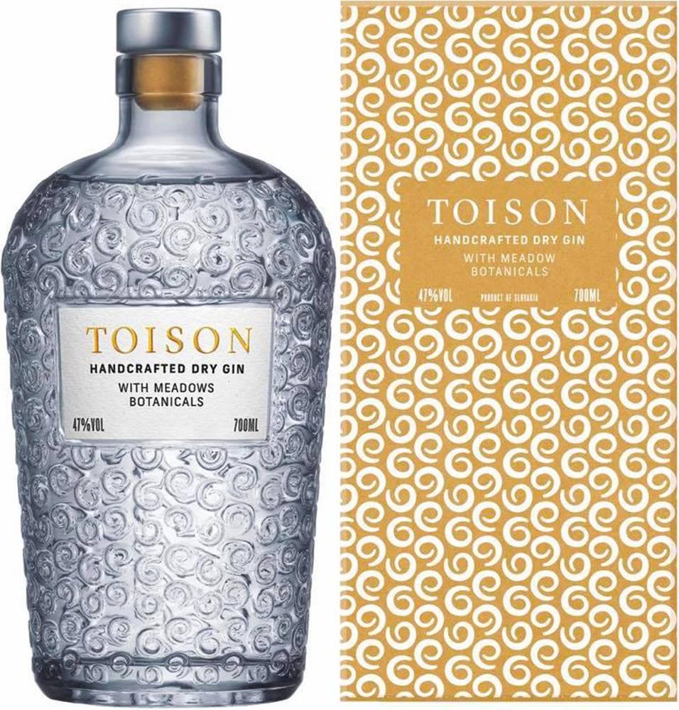 TOISON Toison Gin v kartóniku 47% 0,7l