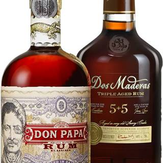 Set Don Papa + Dos Maderas PX 5+5