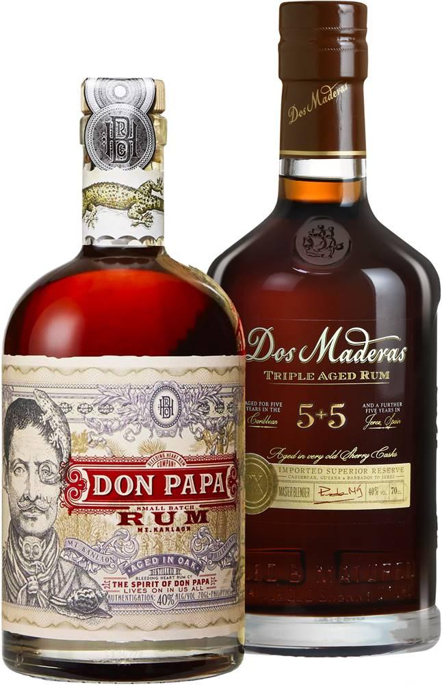 Don Papa Set Don Papa + Dos Maderas PX 5+5